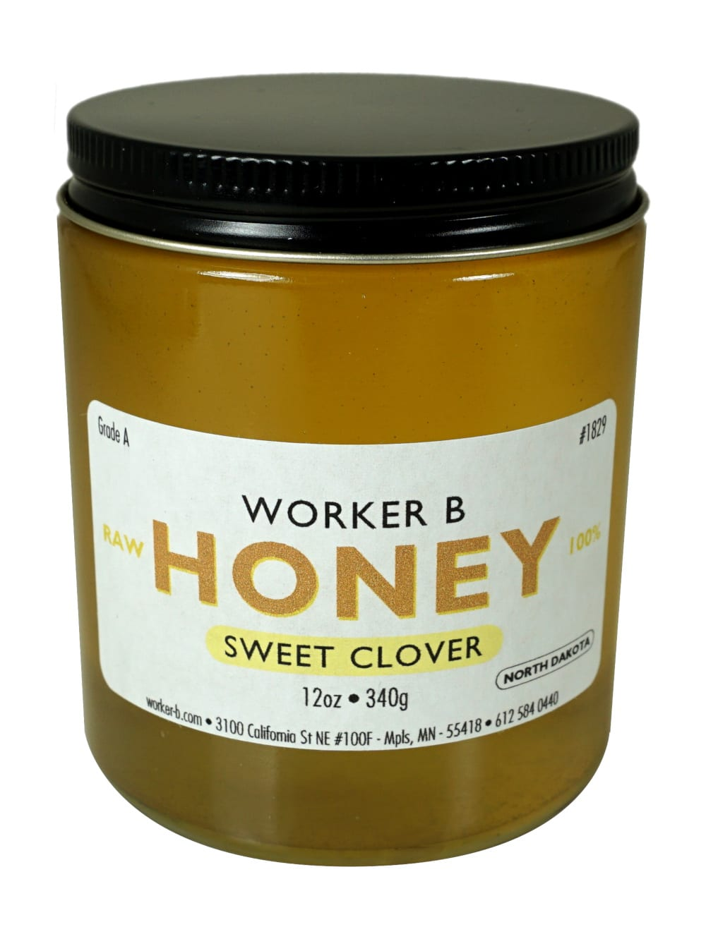 Sweet Clover Raw Honey