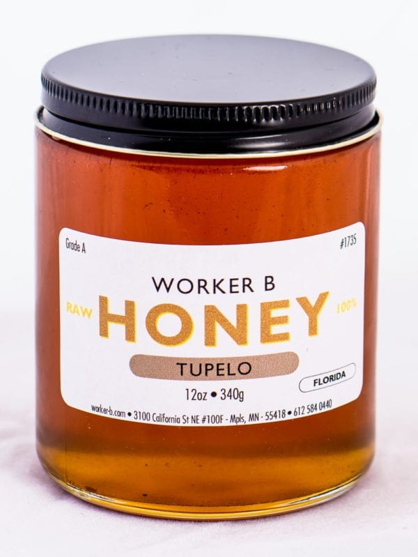 Worker B Raw Honey Tupelo